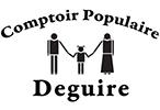Logo Comptoir populaire Deguire